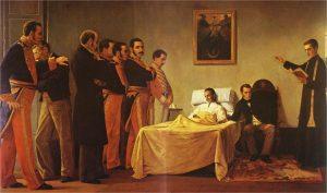 17 de diciembre: 187 años de la muerte de Simón Bolívar