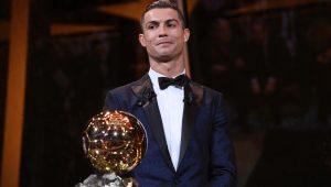 Cristiano Ronaldo es el ganador del Balón de Oro 2017