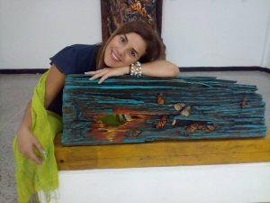 Andreína Portillo expone el «Santuario de la Mariposa Monarca en Maracaibo»
