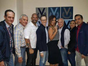 Gisselle Reyes y Richard Linares entre los encargados de la Organización Miss Venezuela