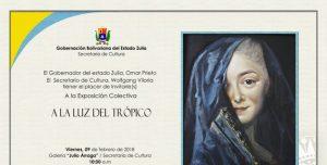 Galería de Arte Julio Árraga inaugura la colectiva «A la luz del trópico»