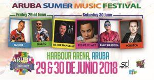 En junio llega la cuarta versión del Aruba Summer Festival cargada de talento internacional y arubiano