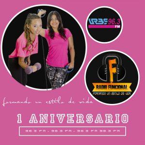 Radio Funcional celebra su Primer Aniversario desde la cabina de Urbe 96.3 FM