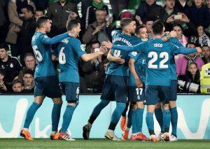 LaLiga: Real Madrid vino de atrás y venció al Betis