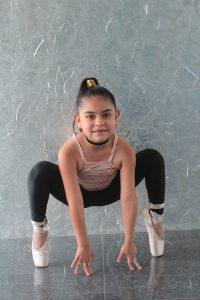 Lucía Quintero: «Quiero representar a mi país bailando»