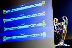 Juventus-Real Madrid plato fuerte de cuartos de Champions; suerte dispar para Barça y Sevilla