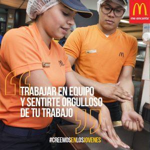 McDonald's ofrece nuevas oportunidades de primer empleo en América Latina