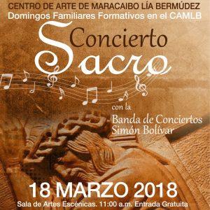 CAMLB ofrece concierto sacro este domingo