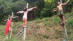 Mérida: Con mucha fe religiosa los zedeños recordaron la pasión de Cristo