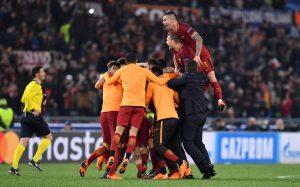 Roma golea al Barcelona y está en semifinales
