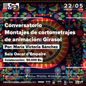 CBAAM presenta Conversatorio: Montajes de cortometrajes animados