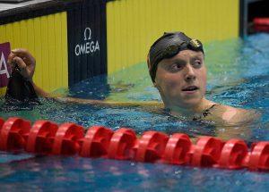 Katie Ledecky firma segundo mejor tiempo de la historia en 400 m libres