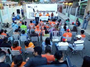 Voluntad Popular arranca ciclo de asambleas de calle en el Zulia