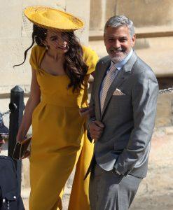 Elton John, Oprah Winfrey y George Clooney, en la boda de Enrique de Inglaterra