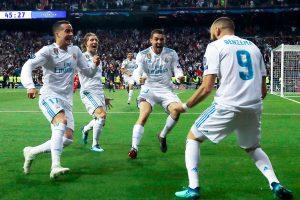Benzema mete al Real Madrid en su tercera final de «Champions» consecutiva