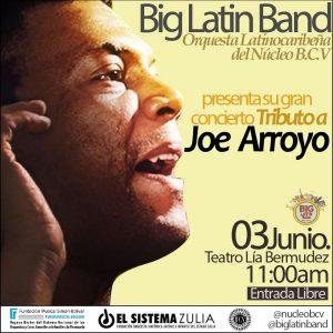 «Big Latin Band» ofrecerá concierto sin precedentes en el Teatro Lía Bermudez en honor al músico Joe Arroyo