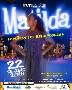 «Matilda, El Musical» regresa en julio
