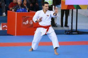 Antonio Díaz gana el oro en el Panamericano de Karate