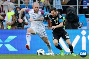 Rusia 2018: Islandia humaniza a Messi