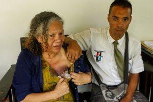 Venezuela se conmueve con el cáncer de Elizabeth Salazar