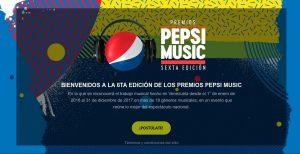 Comienza la fase de postulaciones para la VI Edición Premios Pepsi Music