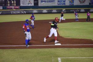 El zuliano Pedro Rodríguez se apunta primer salvado en inicio del béisbol en México