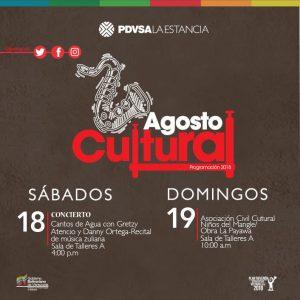 Música venezolana y homenaje al Lago este fin de semana en PDVSA La Estancia Maracaibo