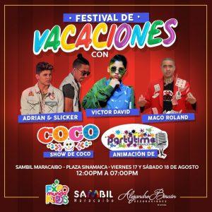Festival de vacaciones llega a Sambil Maracaibo