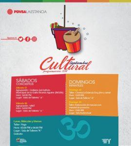 Feria artesanal, gaita zuliana y cine familiar este fin de semana en La Estancia Maracaibo