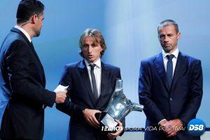 Luka Modric se corona como el mejor jugador UEFA
