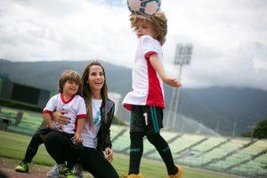 #MamásFútboleras: Un gol por una buena causa