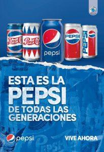 Pepsi celebra los 120 años de la marca en el mundo y revive momentos icónicos de la cultura pop