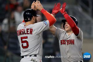 MLB: Boston humilla a Yankees y se va al frente 2-1