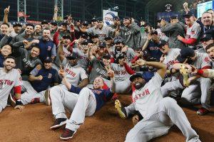 Medias Rojas destronan a Astros y van a la Serie Mundial de béisbol