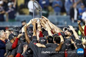 Medias Rojas ganan su novena Serie Mundial al vencer 5-1 a Dodgers