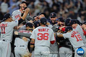 Medias Rojas vencen a Yankees y van por el campeonato de la Americana ante Astros
