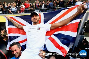 F1: Hamilton se corona en México y alcanza al mítico Fangio