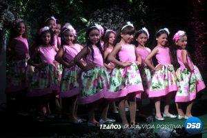 Feria Infantil del Lago presenta a sus mini reinas