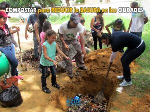 Fundación Azul Ambientalistas inaugura la primera Fosa Comunitaria para Compostaje de Desechos Orgánicos en Maracaibo