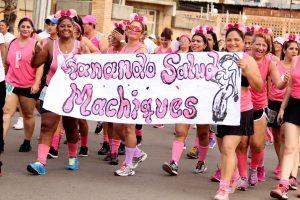 Maracaibo se llenó de rosa con la decimoctava caminata de Famac