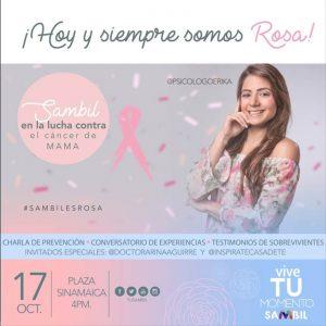 Sambil Maracaibo se viste de Rosa este 17 de octubre