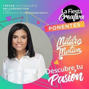 Mildre Motion celebra su tercer aniversario con «La Fiesta Creativa»
