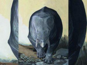 Descubren una gigantesca criatura que convivió con los dinosaurios