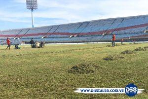 Zulia FC emprende trabajos de recuperación del terreno de juego del «Pachencho»