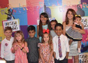 Disco infantil «Coloreando Melodías» se estrenó por todo lo alto en Miami