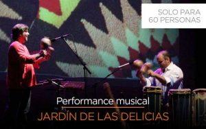 Etnoe3 presenta Jardín de las Delicias, un concierto al aire libre