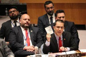 Canciller Arreaza: EEUU está a la vanguardia del golpe de Estado y debe ser condenado por la ONU