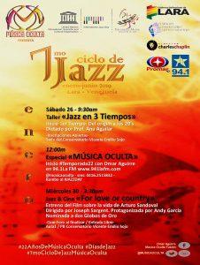 Música Oculta presenta 7.º Ciclo de Jazz