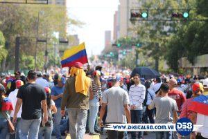 Maracaibo grita ¡Libertad! en concentración del 23 de Enero