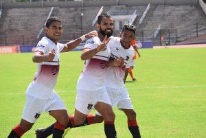 #LigaFútVe: Monagas Sport Club venció 2-3 a Deportivo La Guaira en el Olímpico de la UCV
